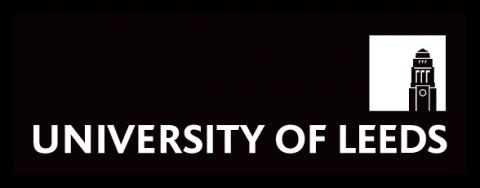 leeds uni logo black white