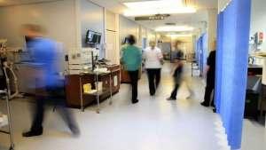 Busy UK Hospital