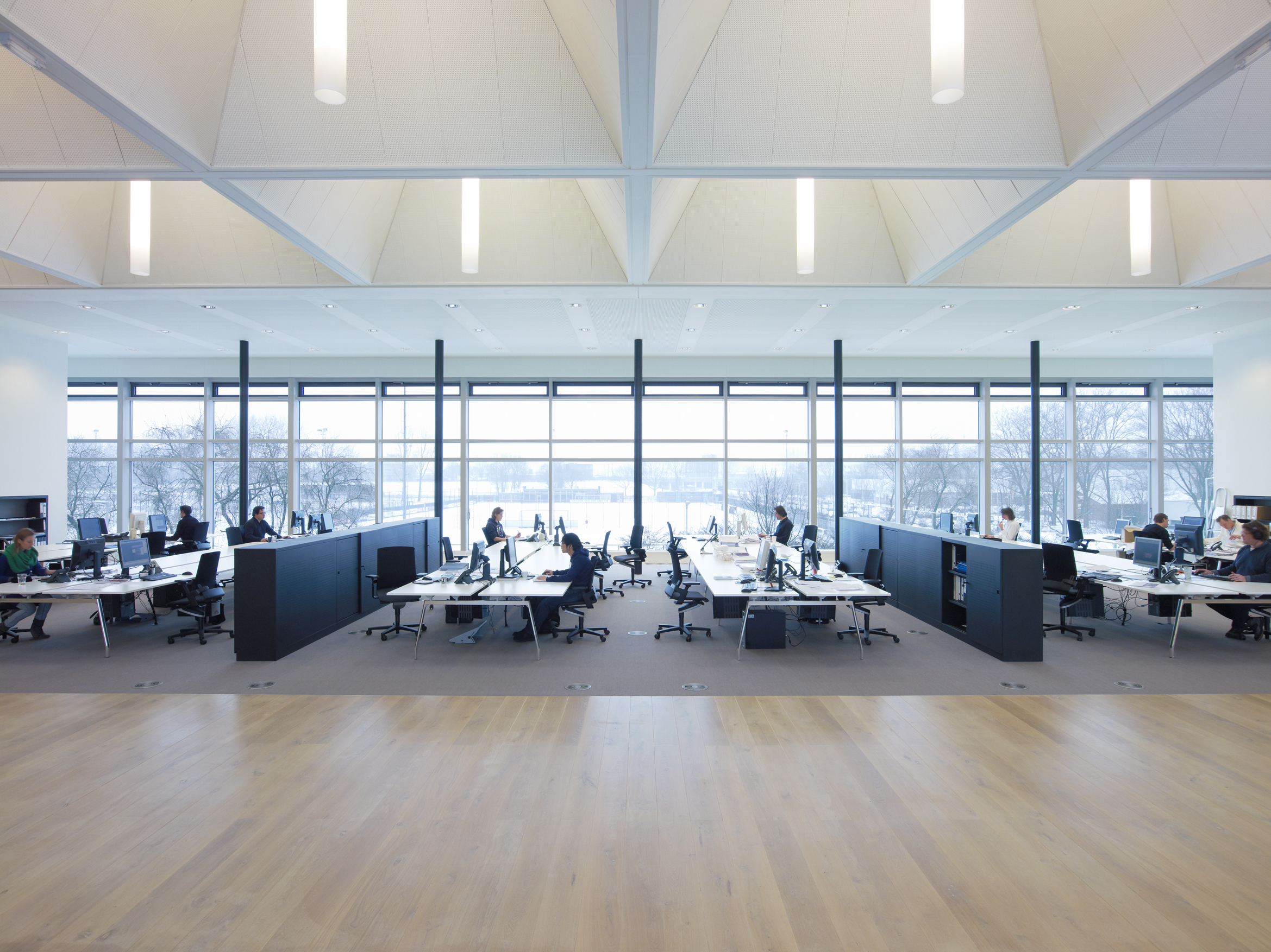 Open Plan Office Commercial Lighting Solutions