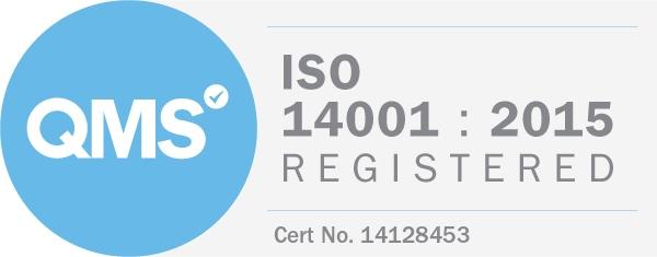 ISO 14001:2015 Accreditation Logo