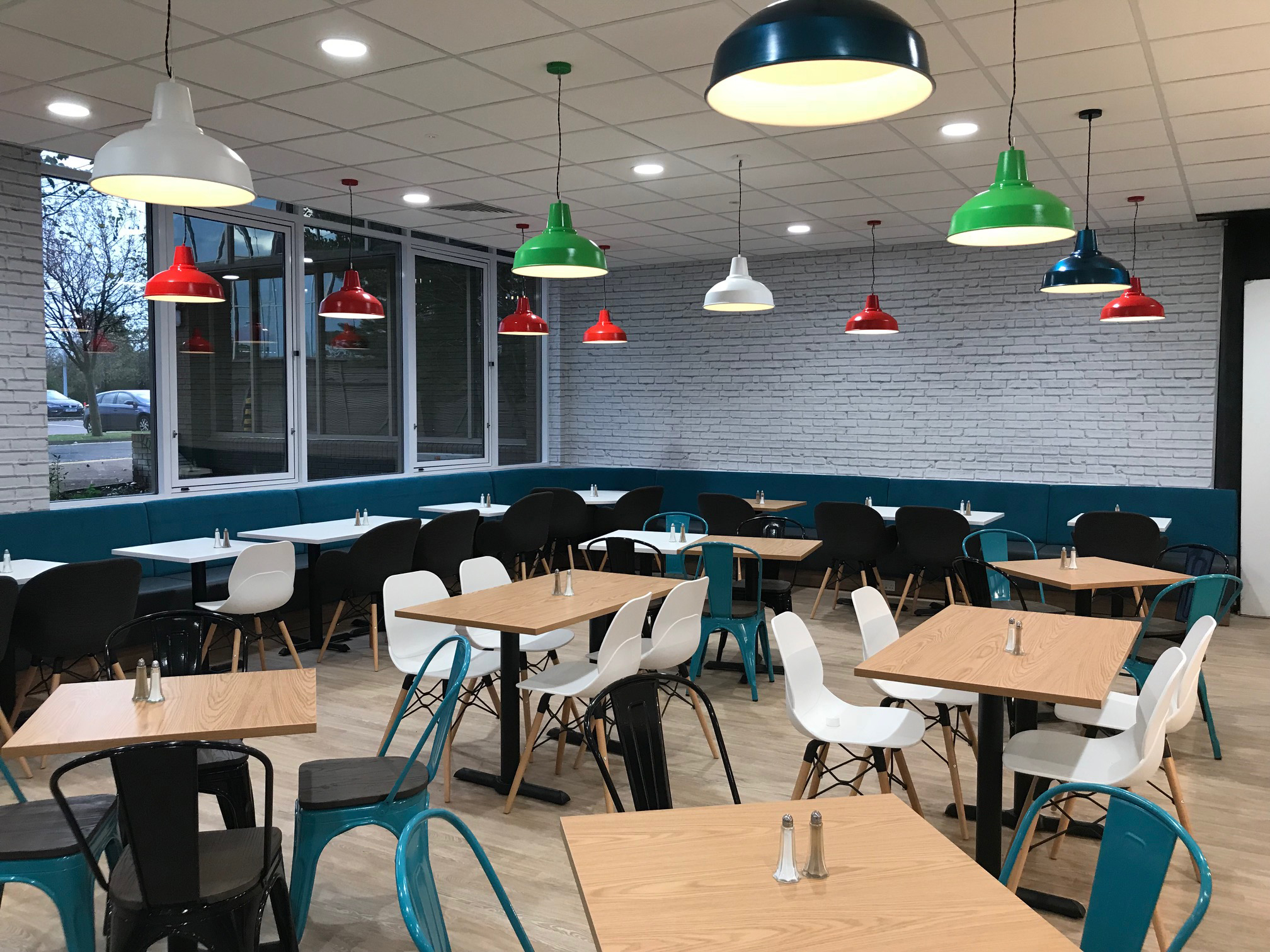 LED Lighting Cafe