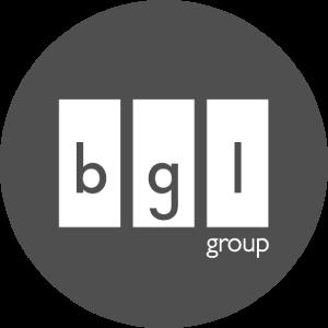 BGL Group logo Greyscale