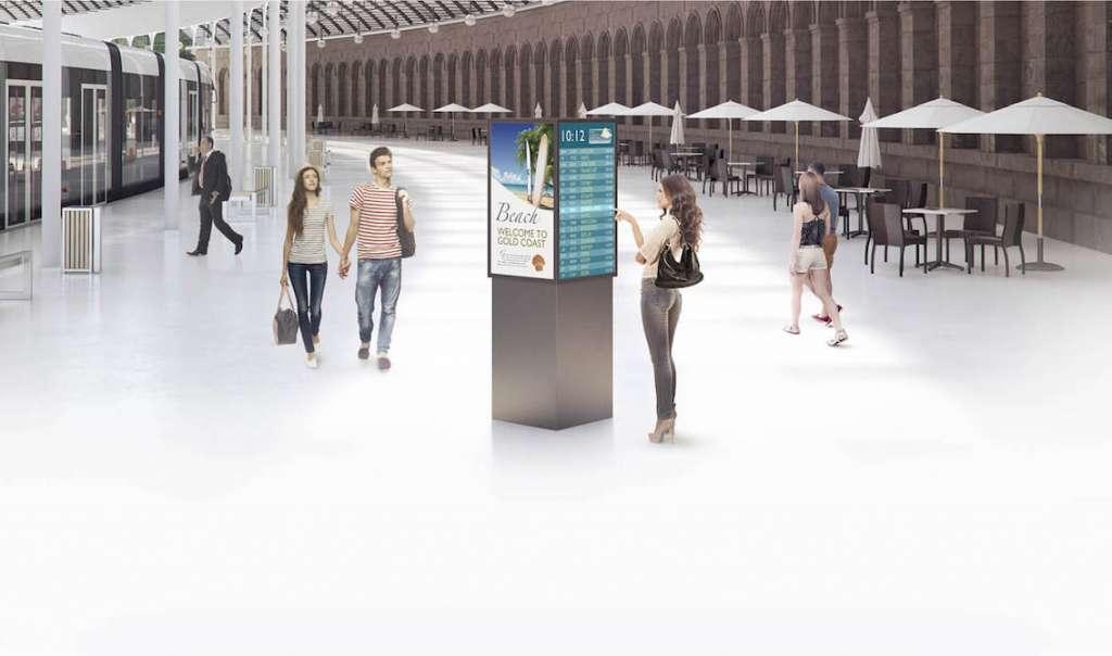 Interactive Digital Signage
