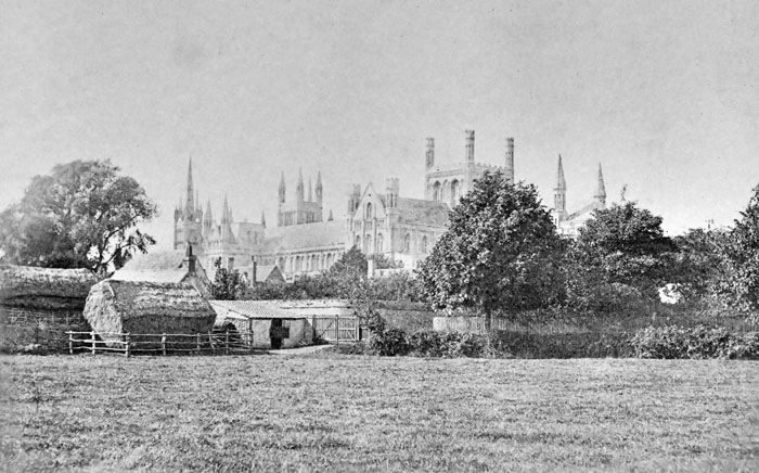 Peterborough Cathedral Samuel Buckle