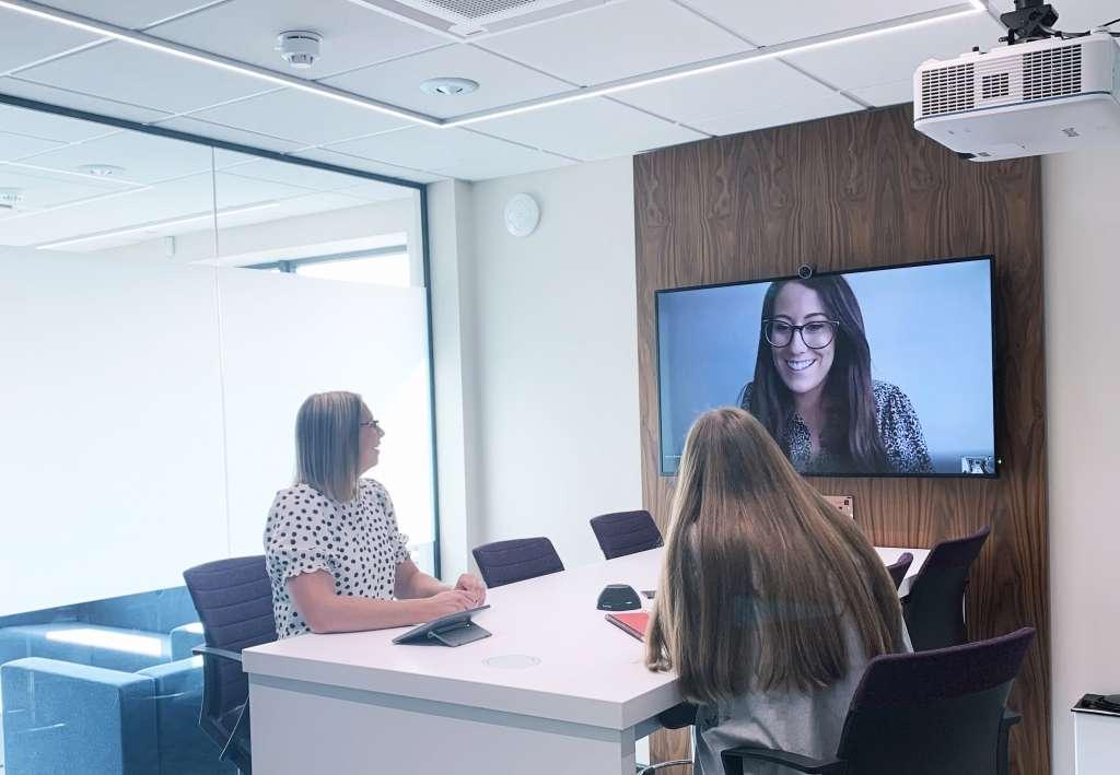 Meeting Room with Microsoft Teams